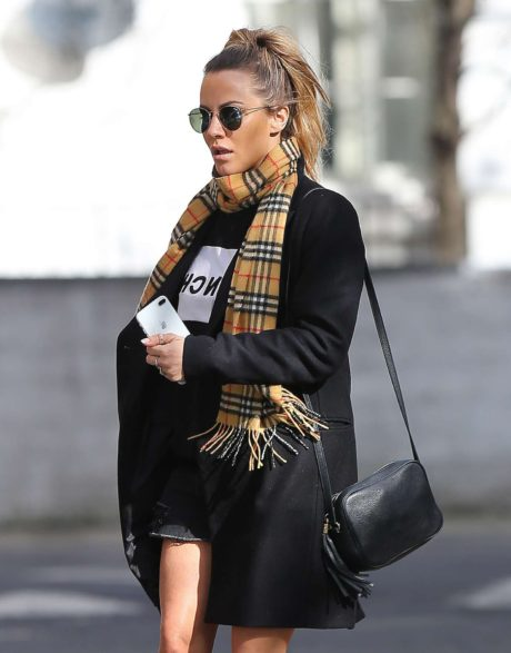Caroline Flack was Spotted in New Outfit, London, March 2019