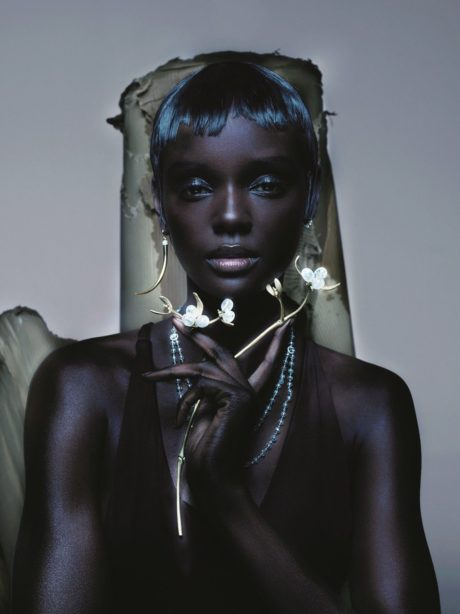 Duckie Thot by Byzantium for Vogue UK, Photos by Nick Knight, April 2019