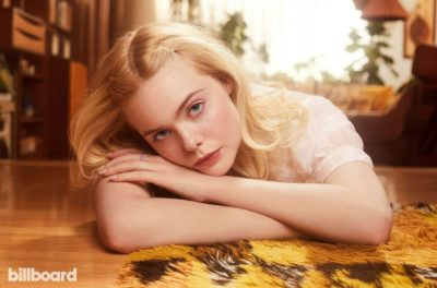 Elle Fanning - blonde actress for Billboard Magazine, 2019