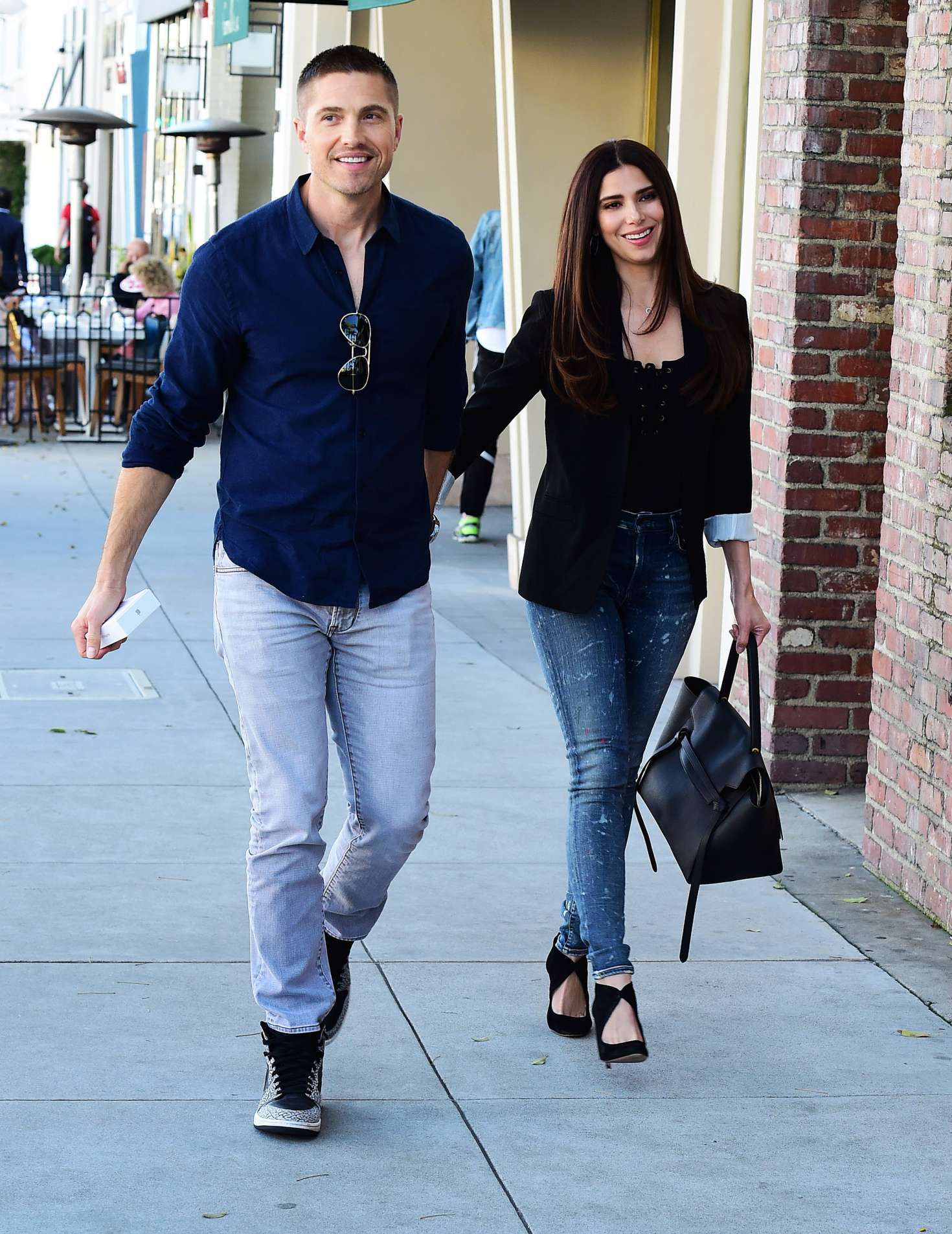 Eric Winter with Roselyn Sanchez very beautiful celebrity couple