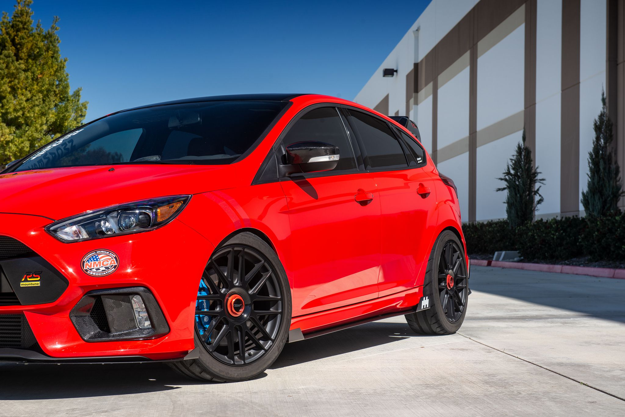 Ford Focus RS MK3 in red colour