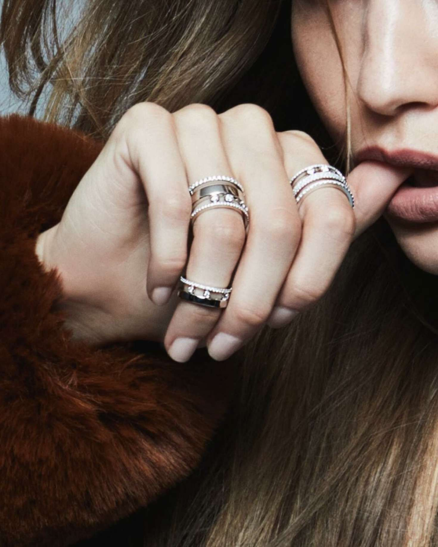 Gigi's rings, Messika, Twin Collection, 2019