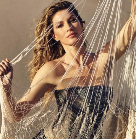 Gisele Bundchen poses for Vogue Germany Magazine, Photos by Luigi Murenu and Iango Henzi, April 2019