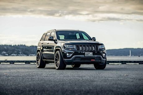 Grand Cherokee SRT8, on custom wheels
