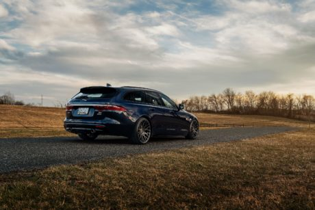 Jaguar XF - rear side-view