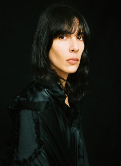 Jamie Bochert at black background