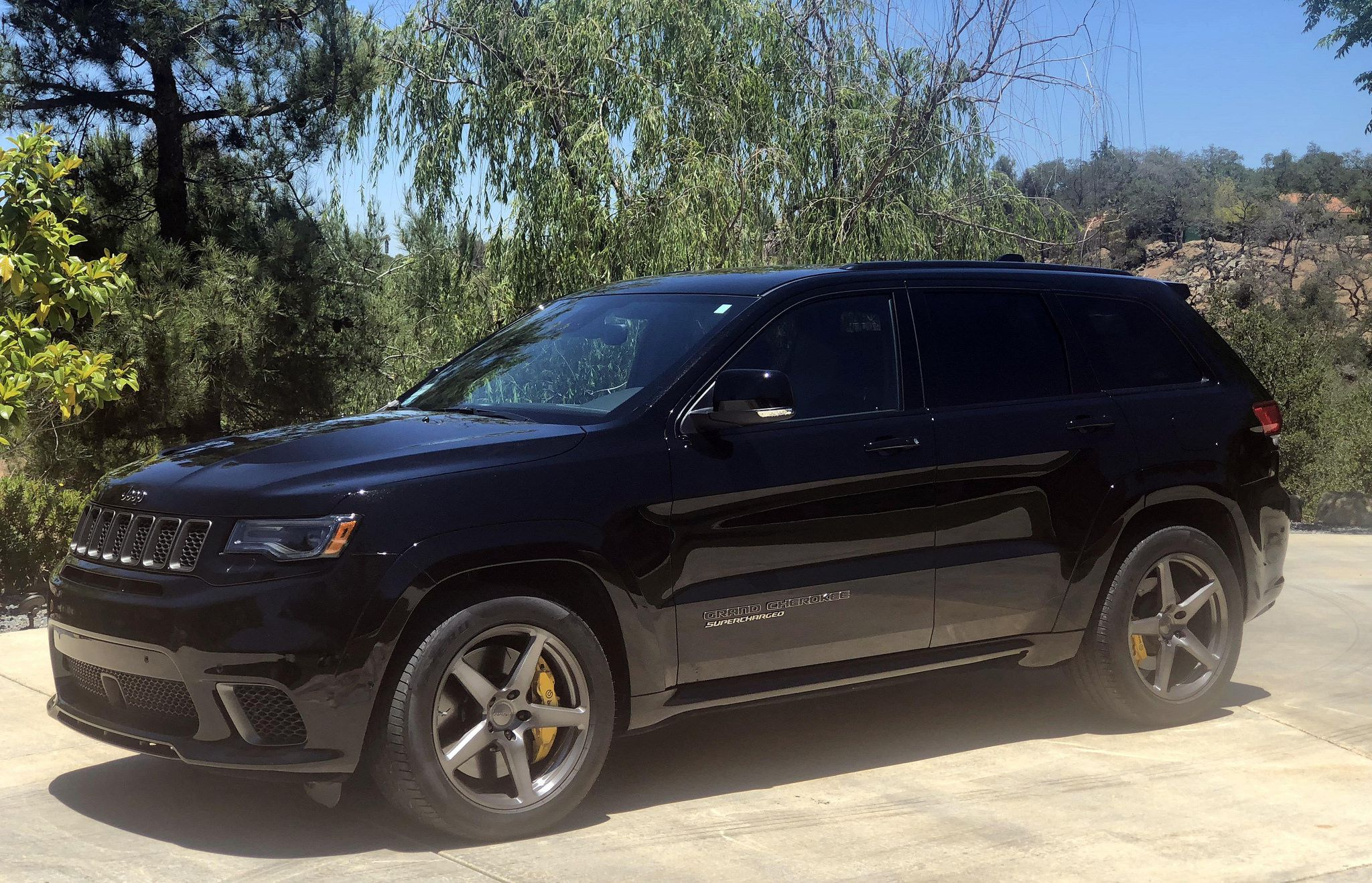 Jeep SRT, supercharged