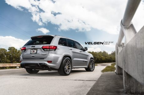 Jeep Trackhawk on Velgen wheels