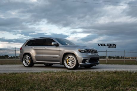 Jeep Trackhawk on custom wheels