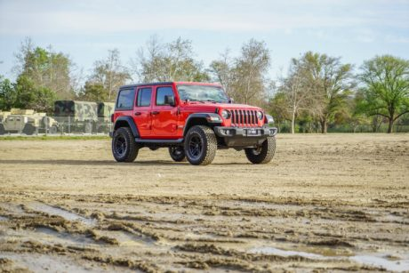 Jeep Wrangler JL Red SUV
