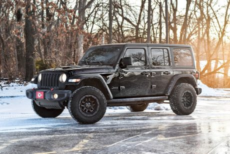 Jeep Wrangler Rubicon JLU – Awesome SUV in Black Colour