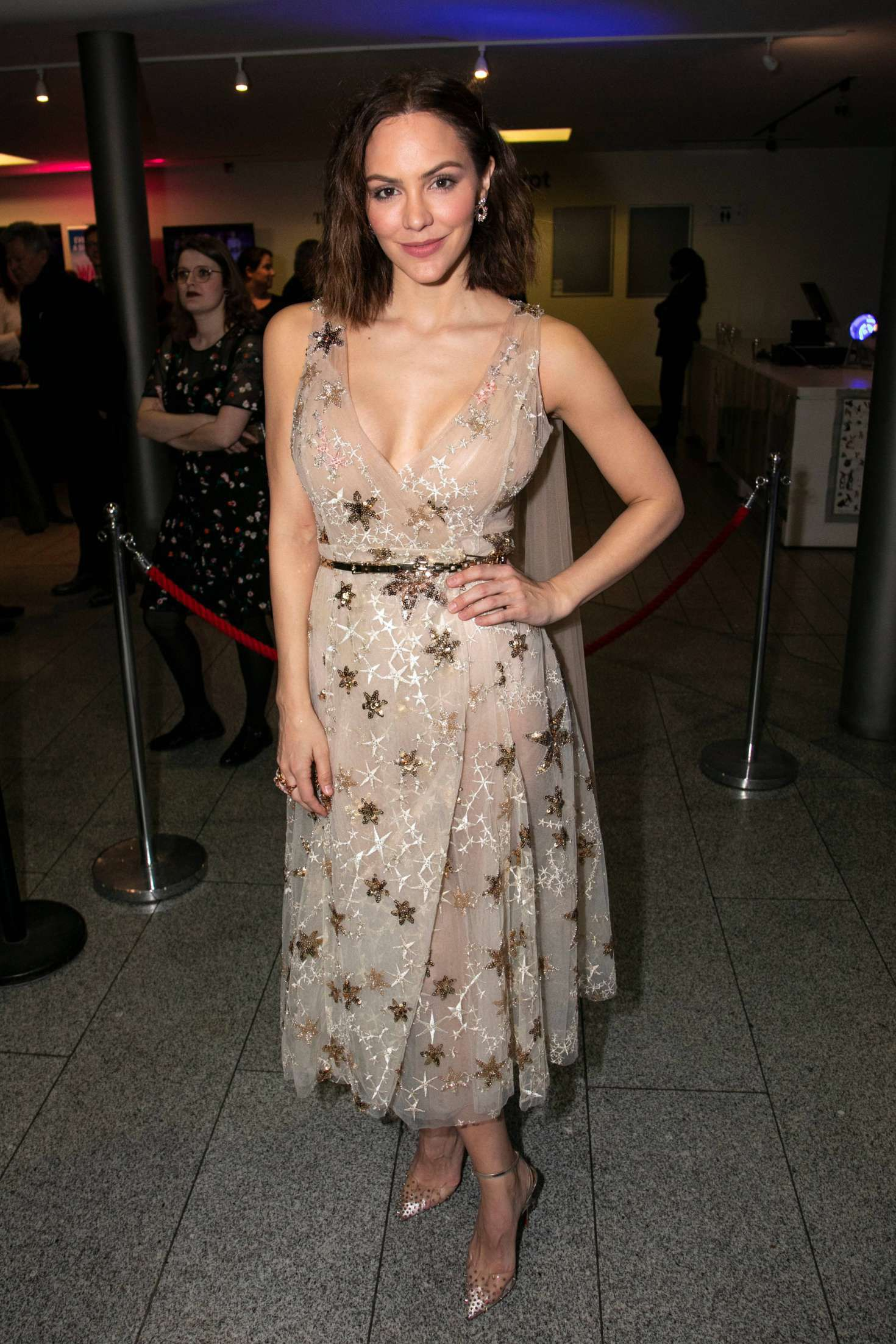 Katharine McPhee at the Musical Press Night, 2019