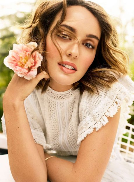Leighton Meester poses for Shape US Magazine, April 2019