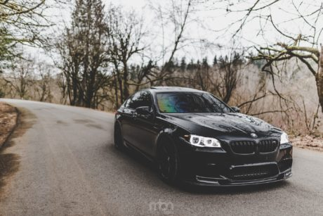 M5 in motion