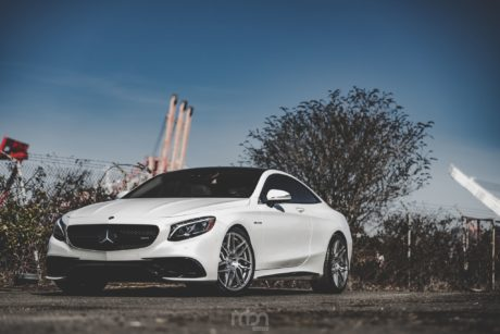Mercedes AMG S 63 V8 Biturbo, white perfection