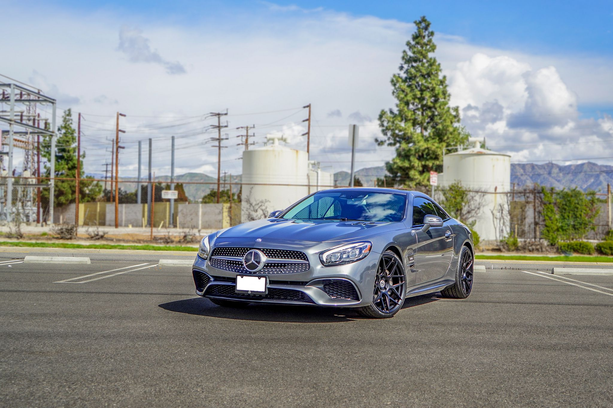 Mercedes SL 550 beautiful sport's coupe