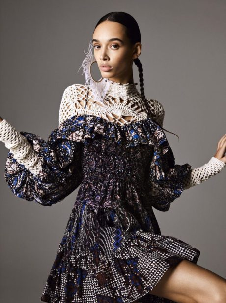 Nandy Nicodeme - beautiful model for Elle Sweden