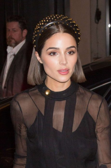 Olivia Culpo in new outfit, Paris – March 2019