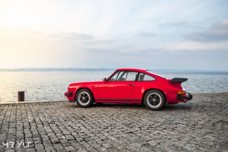 Porsche 911 3.0 SC in red colour