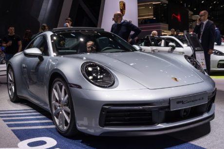 Porsche 911 Carrera 4S & (Cabrio) at Geneva Auto Show in Switzerland, 2019