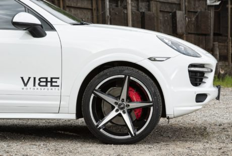 Porsche Cayenne GTS, wheel like a star