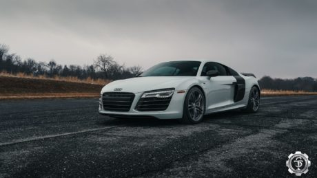 STM Audi R8 – Super Sports Car in White Colour, Always Remains by itself