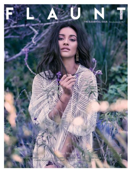 Shay Mitchell - cover story for Flaunt Magazine 2019