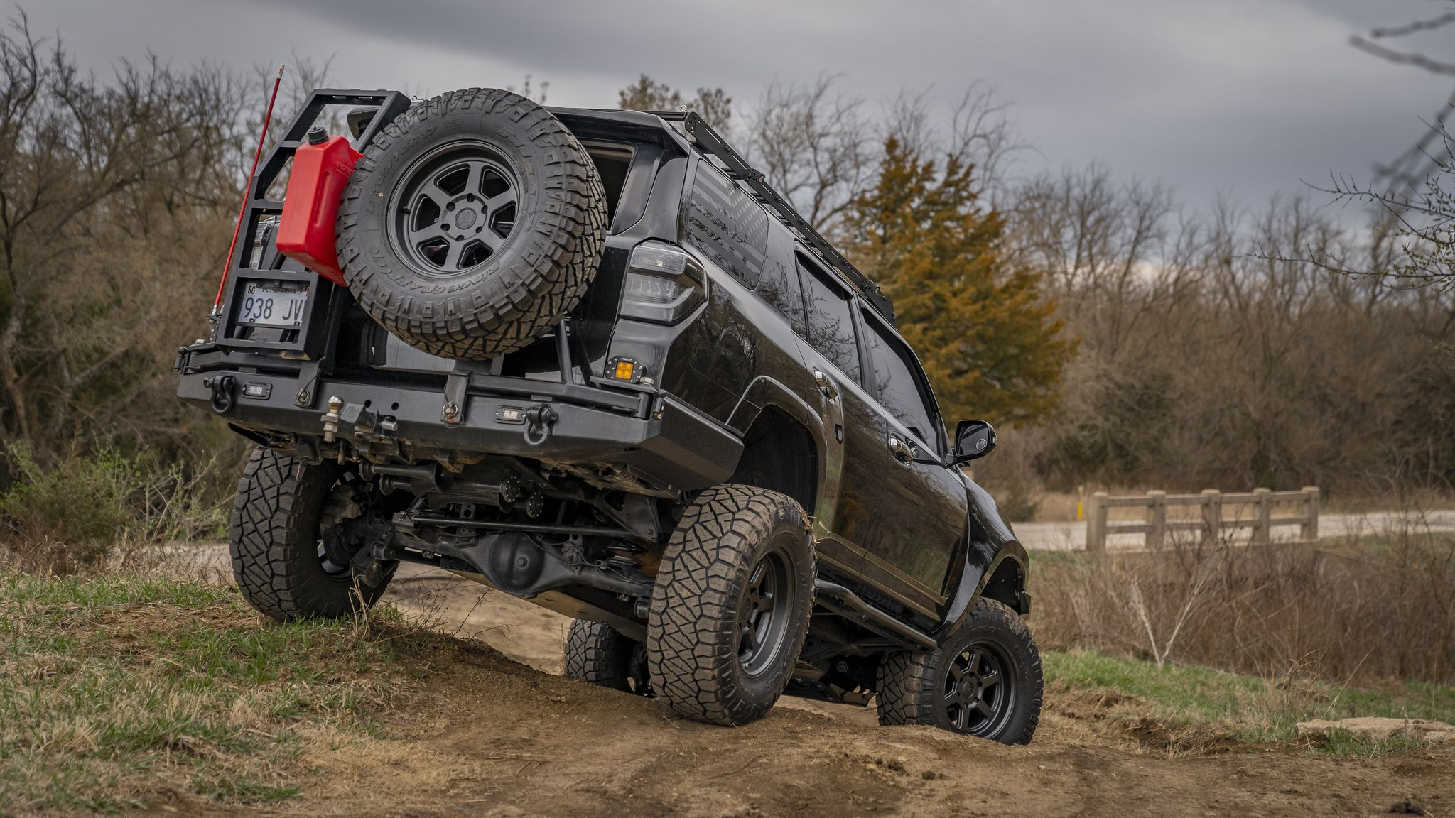 Toyota 4Runner at offroad