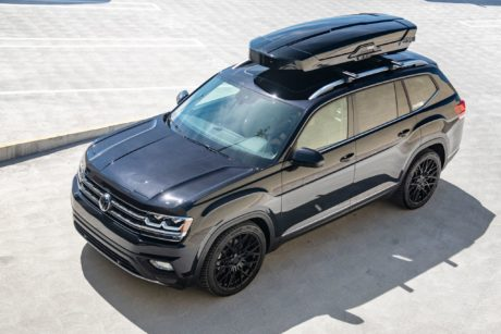 VW Atlas - black SUV
