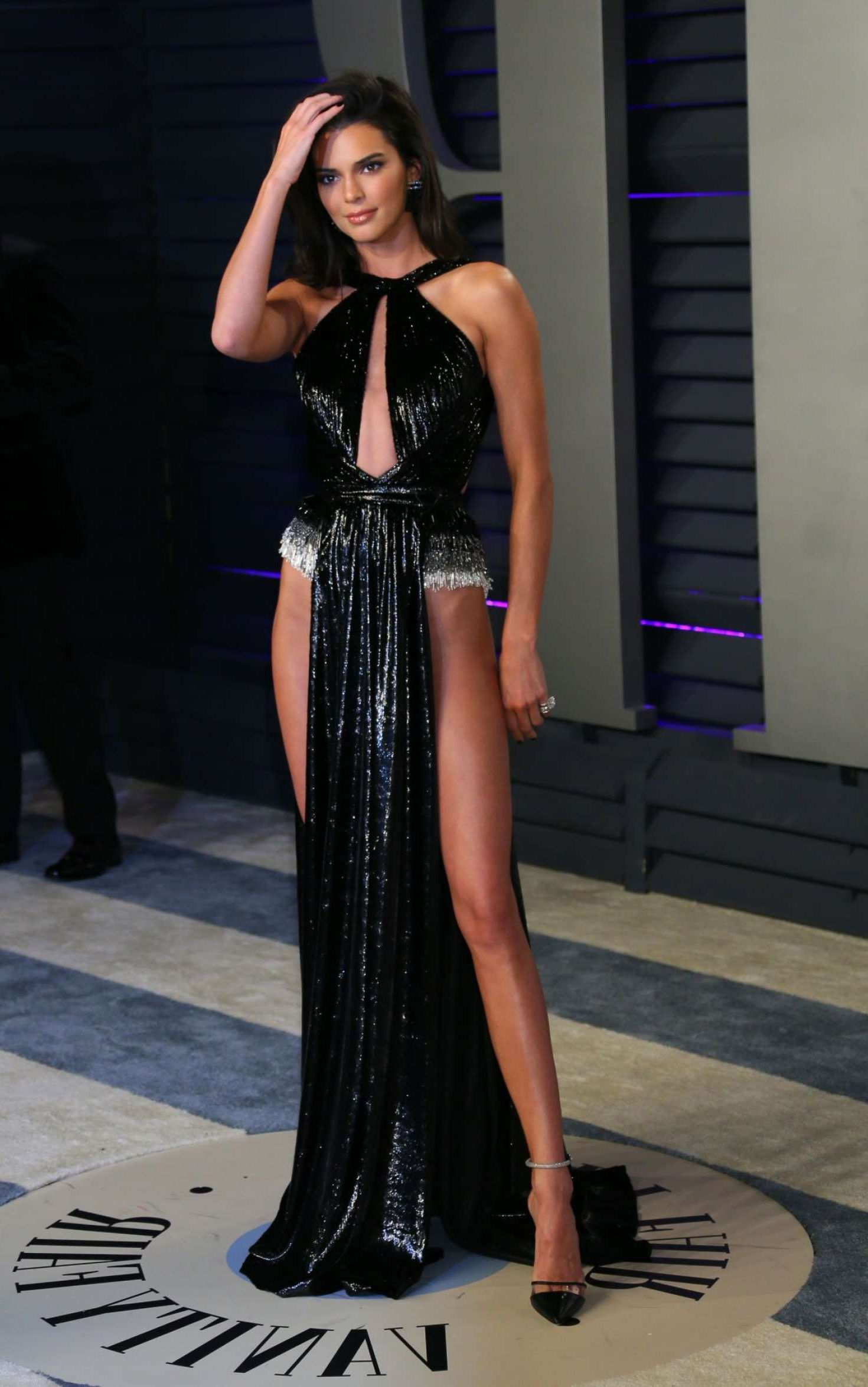amazing model Kendall Jenner at Vanity Fair Oscar Party in Beverly Hills, 2019