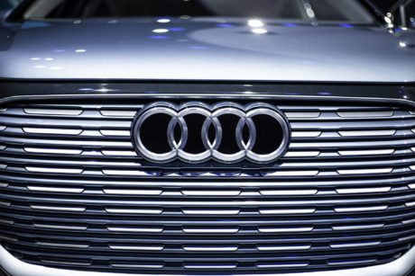audi Q4e-tron concept - chrome badge