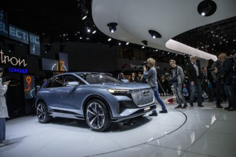 audi Q4e-tron concept - future coming soon
