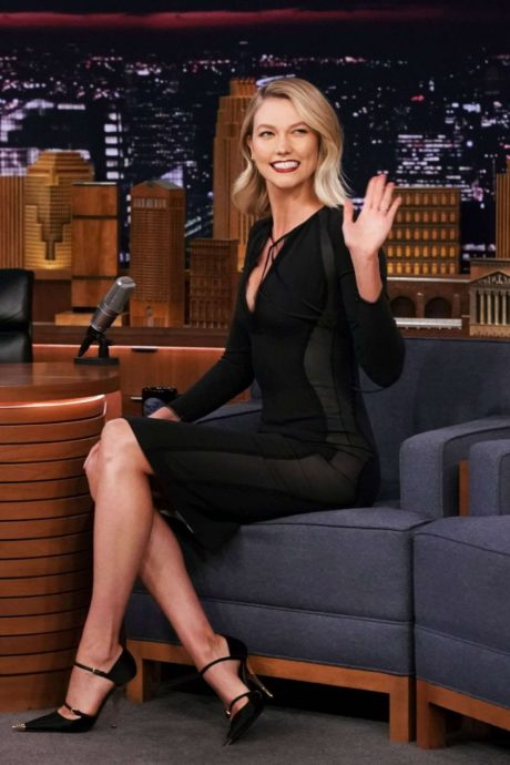 happy Karlie Kloss