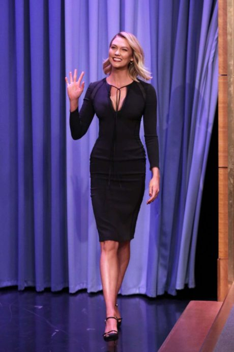 Karlie Kloss at the 'The Tonight Show starring with Jimmy Fallon in New York, March 2019