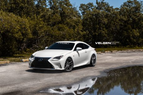 2018 Lexus RC350 – White Sports Coupe