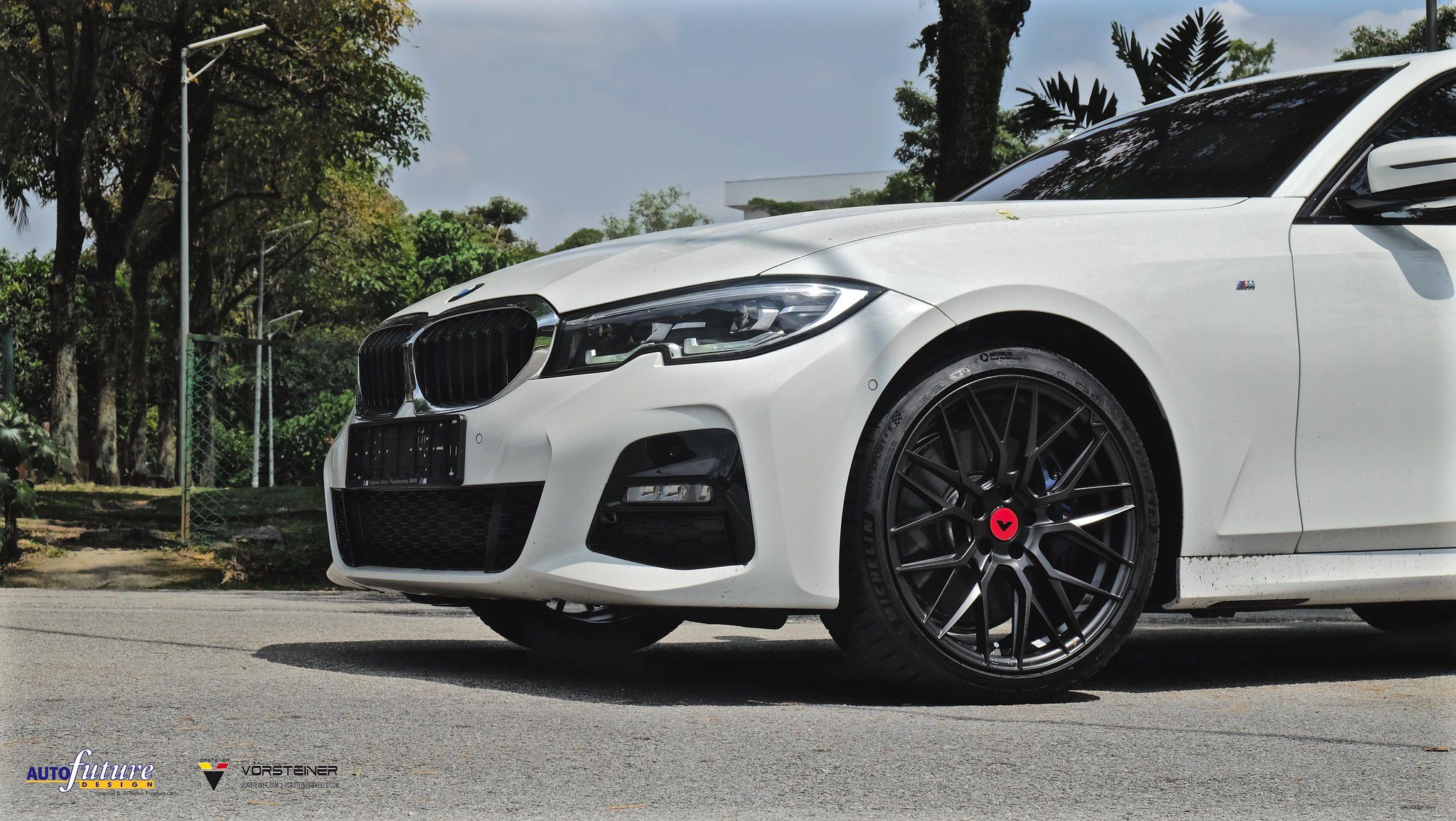 2018 BMW 3 Series >> BMW G20 on black Vorsteiner wheels | HD Image #10