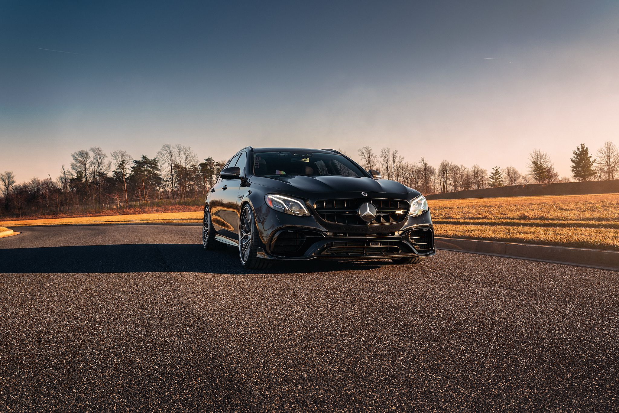 Luxury Car Mercedes E63s AMG Avant