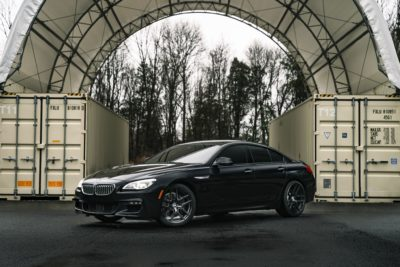 Luxury car BMW 650i
