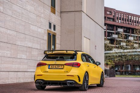New Design of 2019 Mercedes AMG A35