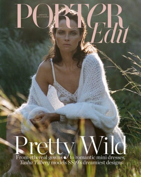 Tasha Tilberg cover story for Porter