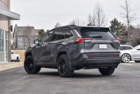 dark green 2019 Toyota RAV4